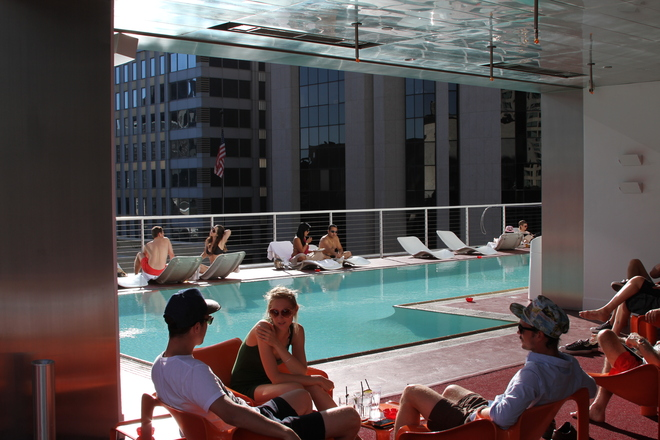 Photo of Rooftop Bar at The Standard Downtown