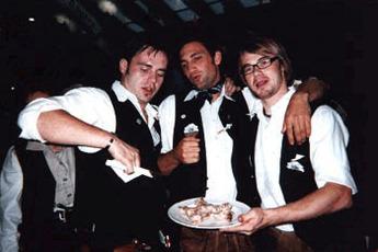 Gin in Tea Cups at Substanz - Club Night in Munich.