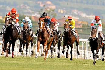 Horse Racing at Ippodromo Capannelle - Horse Racing in Rome.