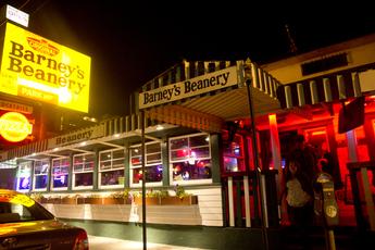 Barney's Beanery.