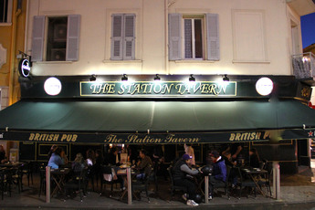 The Station Tavern - Sports Bar in French Riviera.