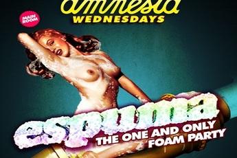 Espuma Foam Party (Wednesday) at Amnesia - Club Night | Party in Ibiza.