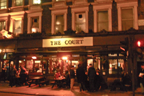 The Court - Pub in London.