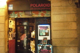 Polaroid - Bar in Barcelona