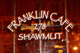 The Franklin Café - Bar | Café | Restaurant in Boston.