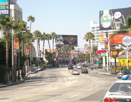 Gateway to the Sunset Strip