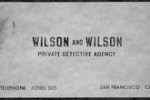 Wilson and Wilson Private Detective Agency - Cocktail Bar | Lounge | Speakeasy in SF