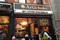 Artichoke Basille&#x27;s Pizza - Pizza Place in New York.