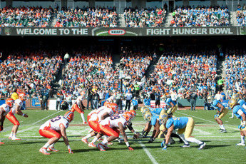 Kraft Fight Hunger Bowl - Football in San Francisco.