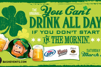 You Can't Drink All Day If You Don't Start in the Mornin' - Party | Holiday Event in Chicago.
