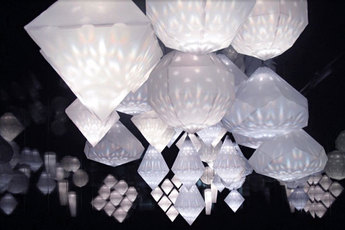 Digital Crystal: Swarovski at the Design Museum - Art Exhibit in London.
