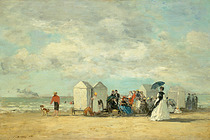 Eugène Boudin Exhibit - Art Exhibit in Paris.