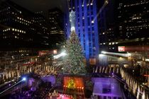 The Rockefeller Center Christmas Tree Lighting - Concert | Holiday Event in New York.