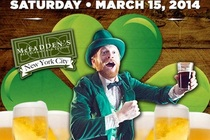 St. Patrick's Day at McFadden's - Party | Holiday Event in New York.