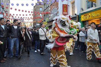 Chinese New Year Parade and Festival in Trafalgar Square - Cultural Festival | Parade in London.