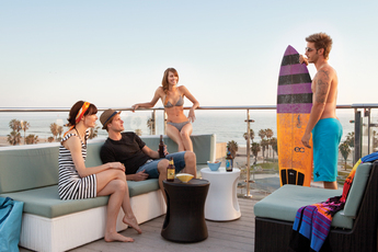 High Rooftop Lounge in Venice.