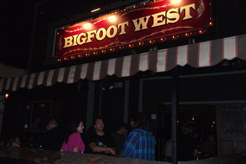 Bigfoot West - Bar in Los Angeles.