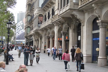 Passeig de Gràcia - Outdoor Activity | Shopping Area in Barcelona.