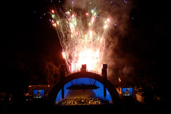 Hollywood Bowl Fireworks.
