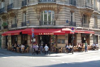La marine canal st martin 10eme paris party earth - Restaurant quai de valmy ...