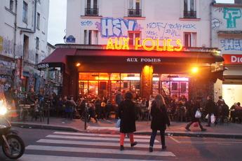 Aux Folies - Café | Dive Bar in Paris.