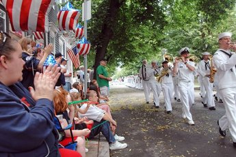 Bunker Hill Day Parade - Parade in Boston.