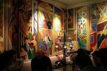 Oscar Bar & Restaurant at the Charlotte Street Hotel - Hotel Bar | Restaurant in London.