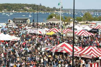 Entertainment At The  Long Island Seafood Fest
