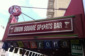 Union Square Sports Bar - Sports Bar in San Francisco.