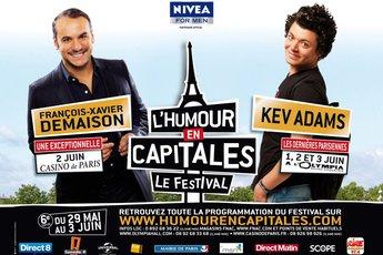 Festival L'Humour en Capitales 2012 - Festival | Comedy Show in Paris.