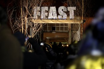 Feast - Food Festival in London.