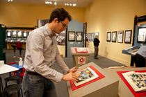 ZAP! POW! BAM! The Superhero: The Golden Age of Comic Books, 1938-1950 - Art Exhibit in Washington, DC.