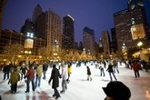 Ice Skating at the McCormick Tribune Ice Rink - Holiday Event in Chicago.