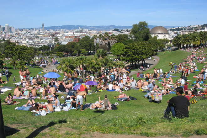 Photo of Mission Dolores Park