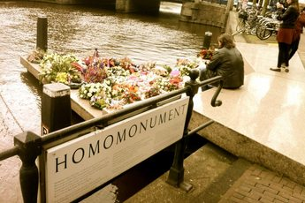 Homomonument - Venue in Amsterdam.