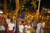 Plaza Abierta - Concert in Pamplona: The Running of the Bulls.