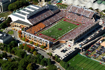 Alumni Stadium (Chestnut Hill, MA) - Stadium in Boston.