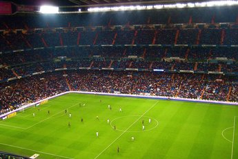 Santiago Bernabéu Stadium in Madrid