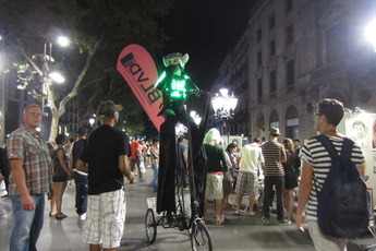 Bar-hopping Las Ramblas in Barcelona