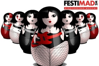 Festimad 2M - Music Festival in Madrid.
