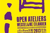 Open Ateliers Westelijke Eilanden 2013 - Art Exhibit in Amsterdam.