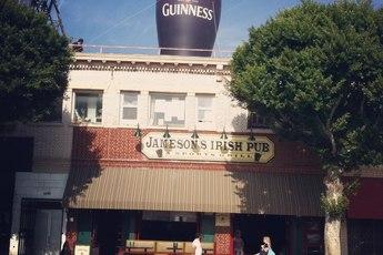 Jameson's Irish Pub - Irish Pub | Restaurant | Sports Bar in Los Angeles.