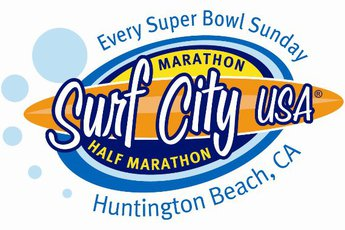 Surf City USA Full and Half Marathon - Running in Los Angeles.