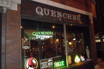 Quenchers Saloon - Live Music Venue | Pub | Restaurant in Chicago.