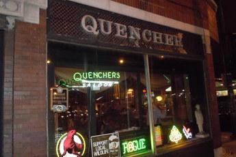 Quenchers Saloon - Live Music Venue | Pub | Restaurant in Chicago.