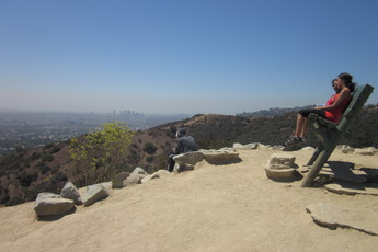Runyon Canyon in Los Angeles offers plenty of different ways to get a nice tan.