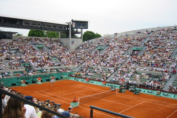 Stade Roland Garros - Stadium in Paris.