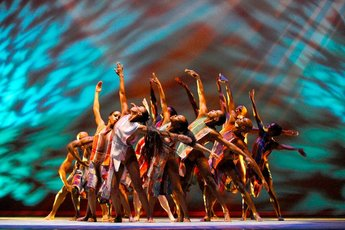 Alvin Ailey American Dance Theater - Dance Performance in Paris.