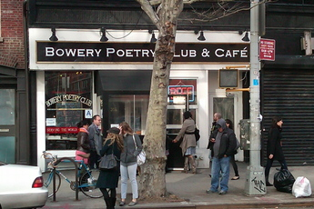Bowery Poetry Club - Bar | Café | Club in New York.