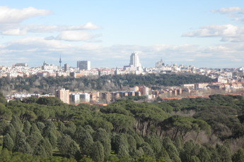 Casa de Campo - Park in Madrid.